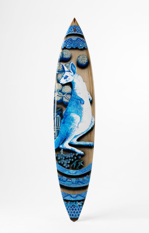 Stephen Bowers Antipodean Willow Surfboard