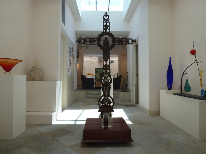 The Object Divine exhibition at LDFA showing the Mary MacKillop Cross