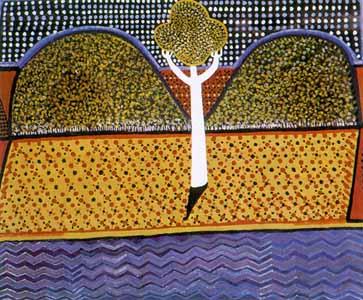 Trevor_Nickolls_990548_dreamtime_landscape_urban_australian_aboriginal_art
