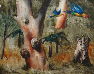 Albert Tucker Parrots