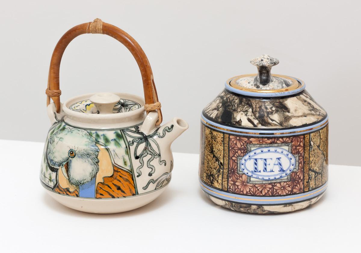 T Pot And T Caddy Lauraine Diggins Fine Art