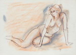 216035 Constance_Stokes Contemplative Nude