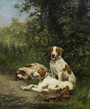 de Penne_Three Hounds Resting