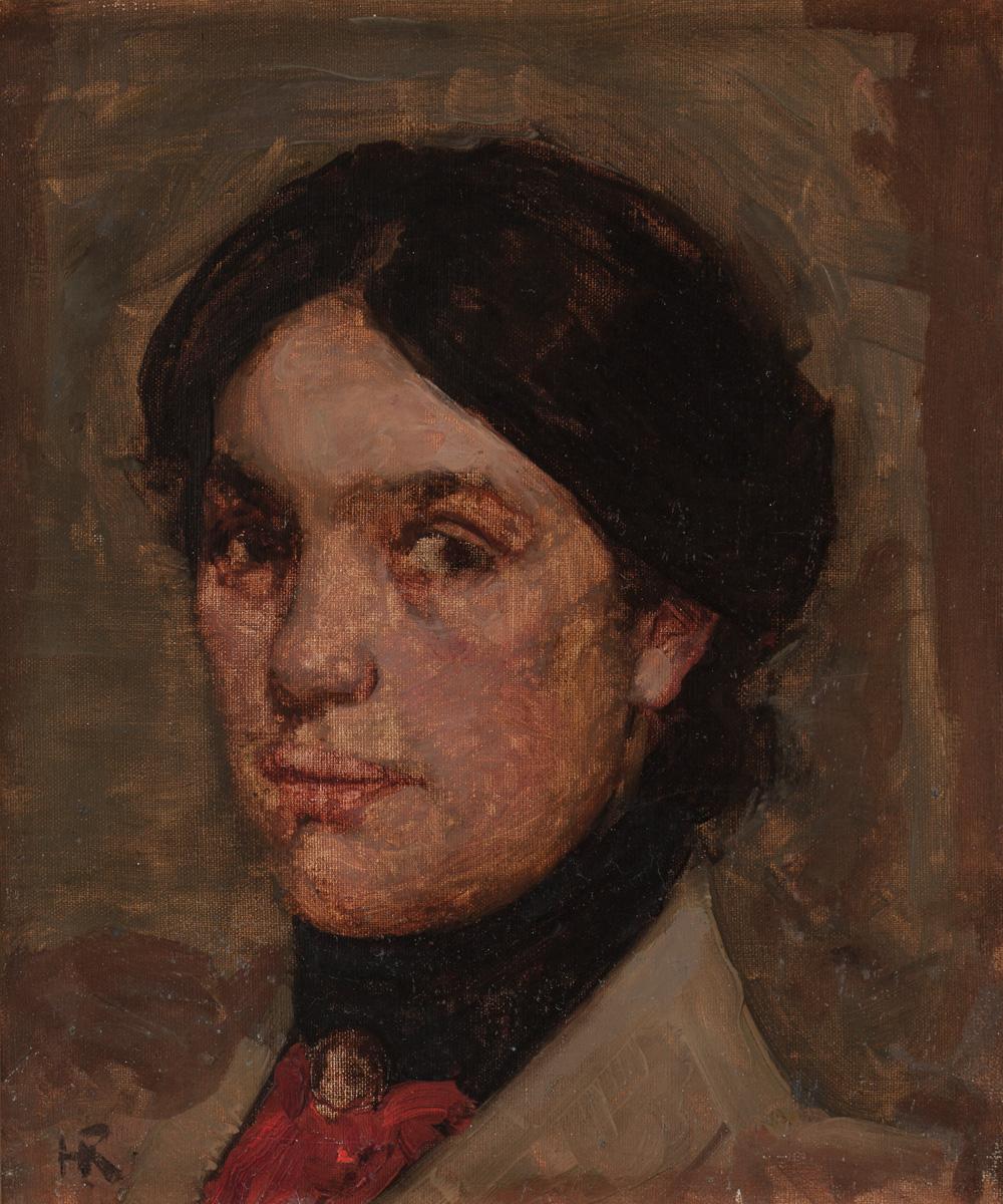 Ramsay Study Woman's Head