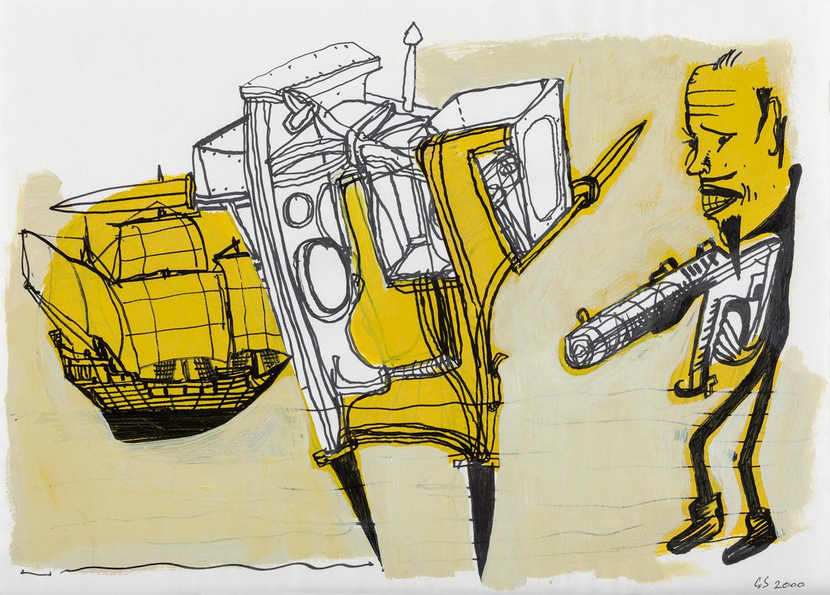 Gareth Sansom Untitled 2000