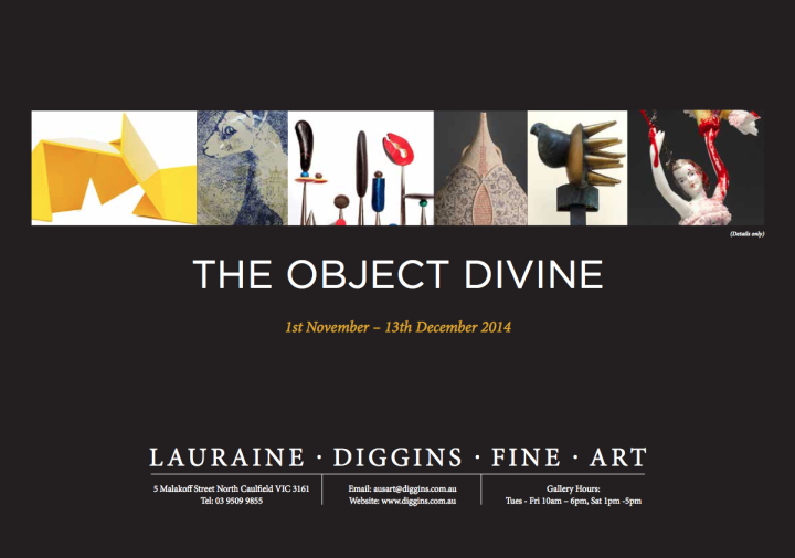 The Object Divine catalogue cover image