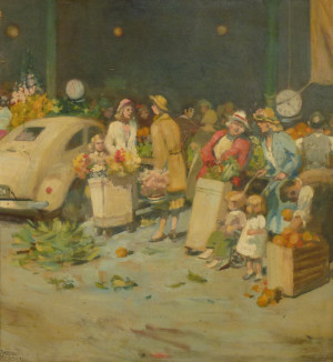 Esther Paterson At the Market