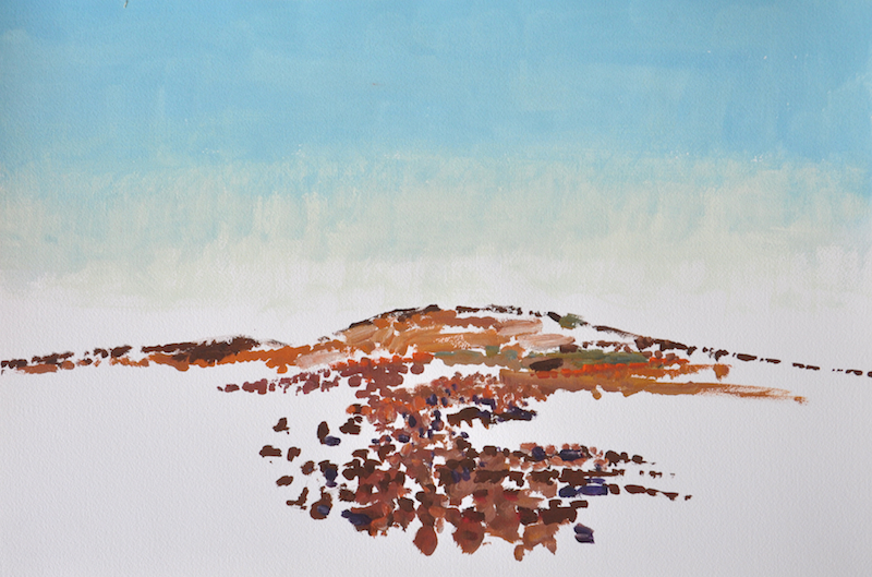 Andrew Sayers Gibber, Mt Barry Station II