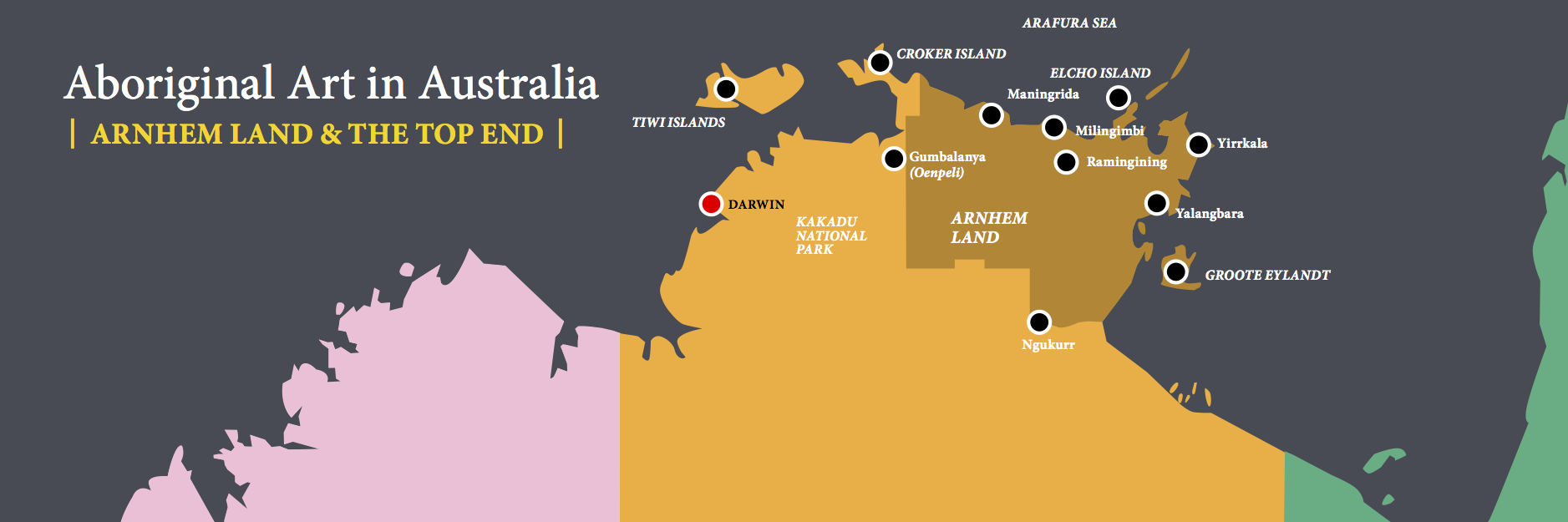 LDFA_Website Maps_8 copy - 2 Arnhem Land & The Top End
