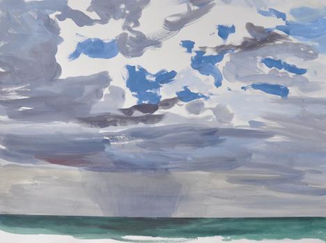 Andrew Sayers Rain, Glasshouse Rocks Beach, Narooma