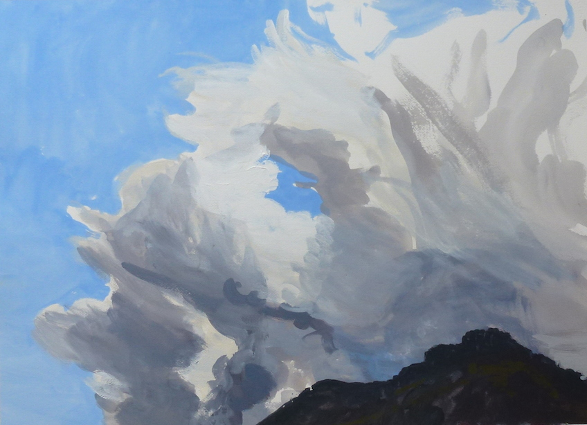 Andrew Sayers Storm Cloud Over Gulaga