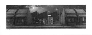 Robert Clinch Intergalactic Dream Machine lithograph