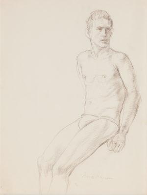 Nora Heysen Male Study 215275