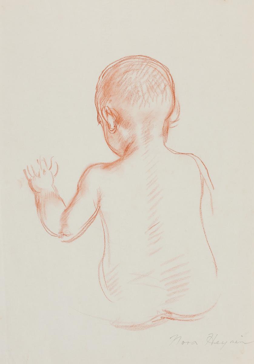 Nora Heysen Native Baby Back Study 215287