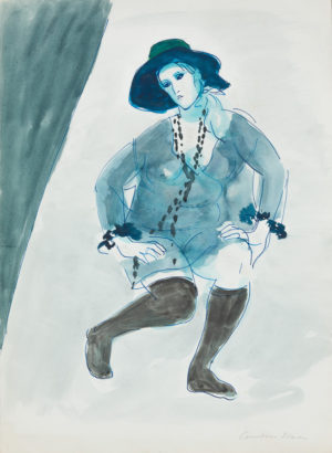 Constance Stokes Black Stockings 216020