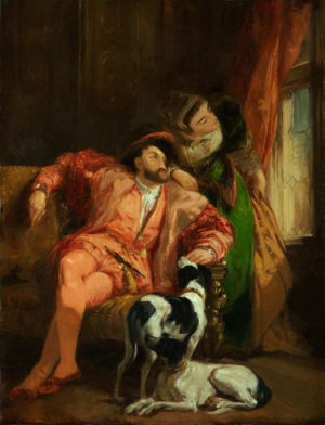 Bonnington Francois Ier et La Reine de Navarre