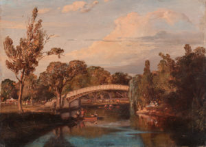 Buvelot_The Yarra Footbridge