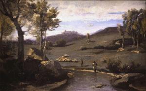 Corot Campagne Romaine