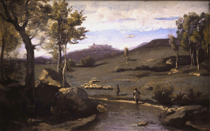 Corot Campagne Romaine