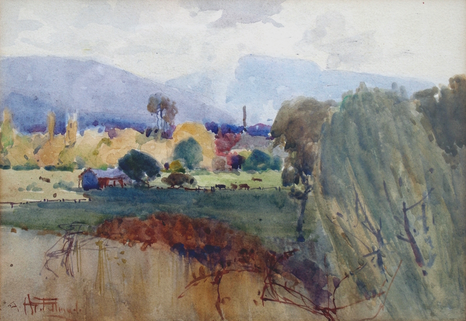 Fullwood New Farm watercolour
