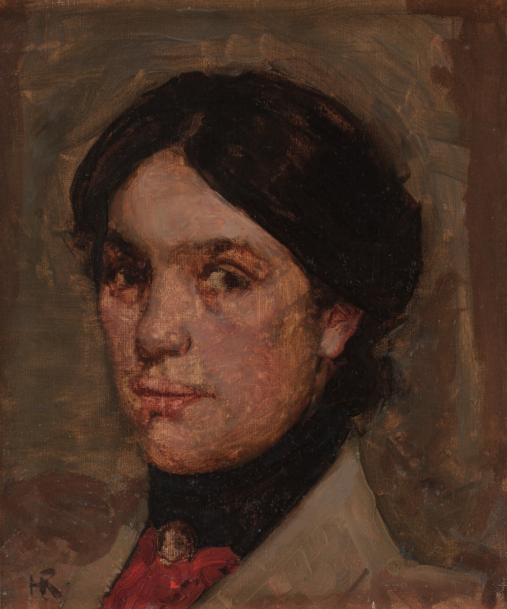 Ramsay Study Woman's Head