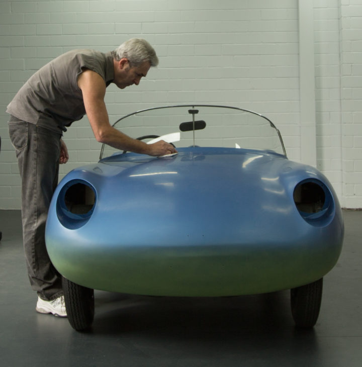 Robert Clinch and the Goggomobil D'art Project 2017