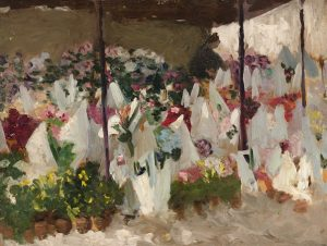 Ethel Carrick Fox Au Marche