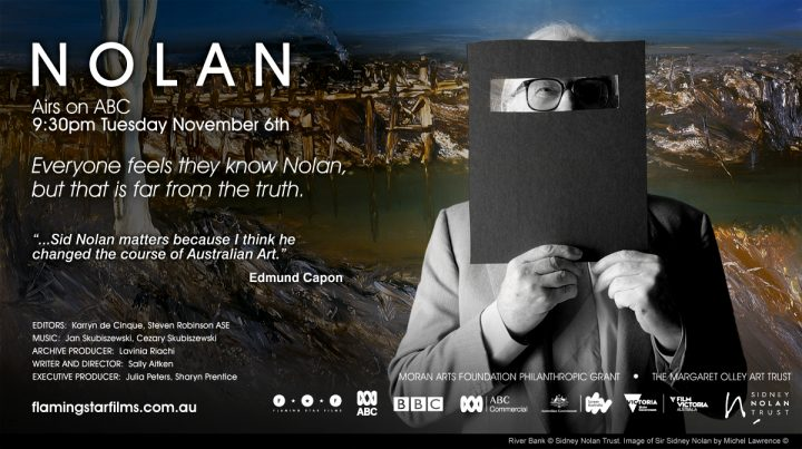Sidney Nolan ABC TV 6 Nov 9.30pm