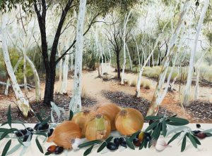 Still Life with Onions Alice Springs Botanic Gardens, Janet Green 2018