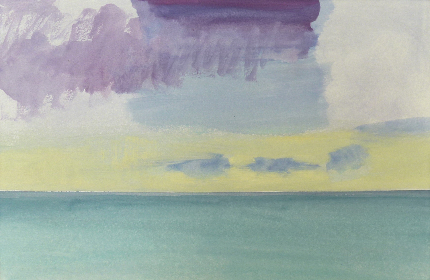 Andrew SAYERS Sky Study Haywards Beach 218136