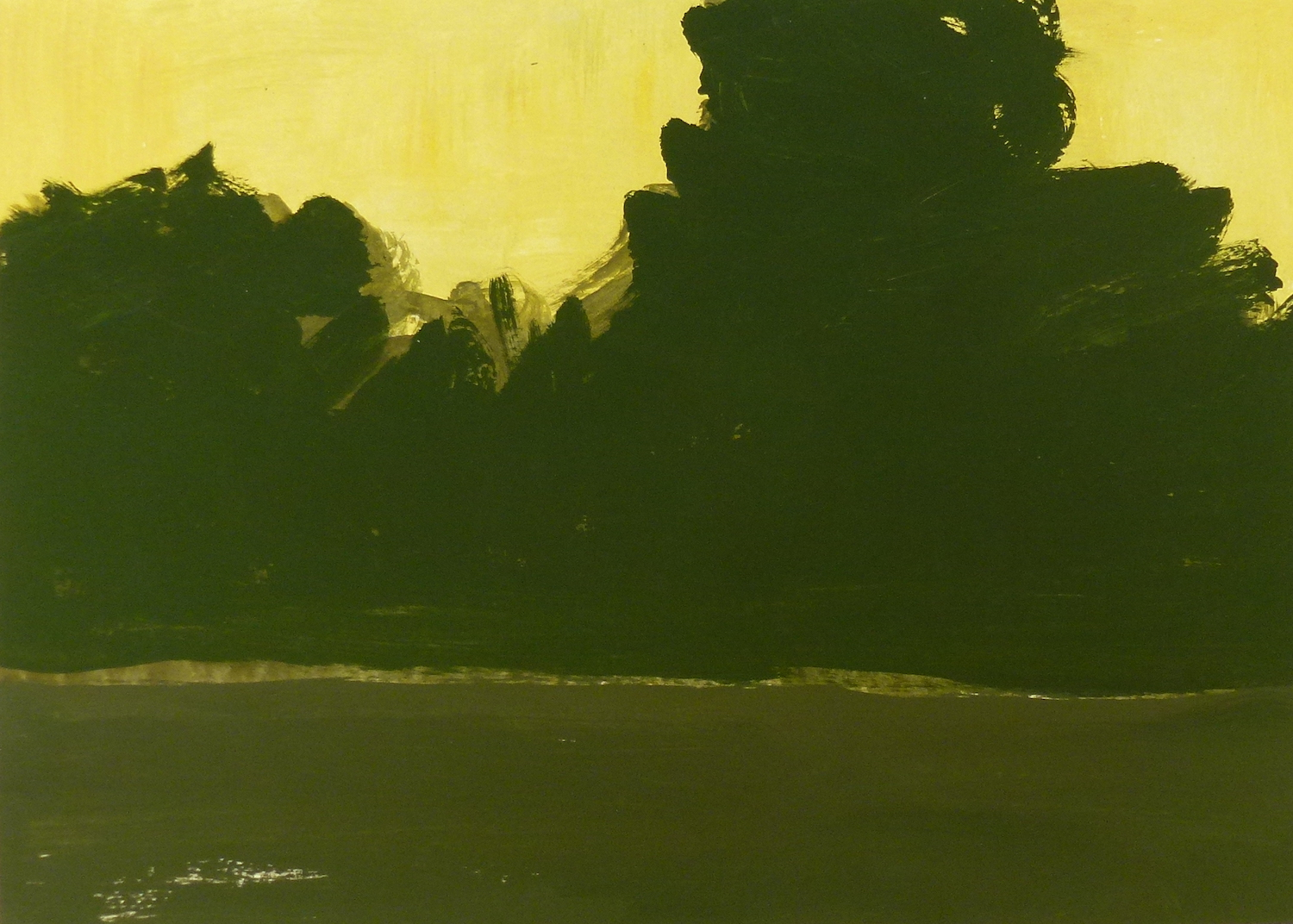 Andrew SAYERS Trees and River lI 218151