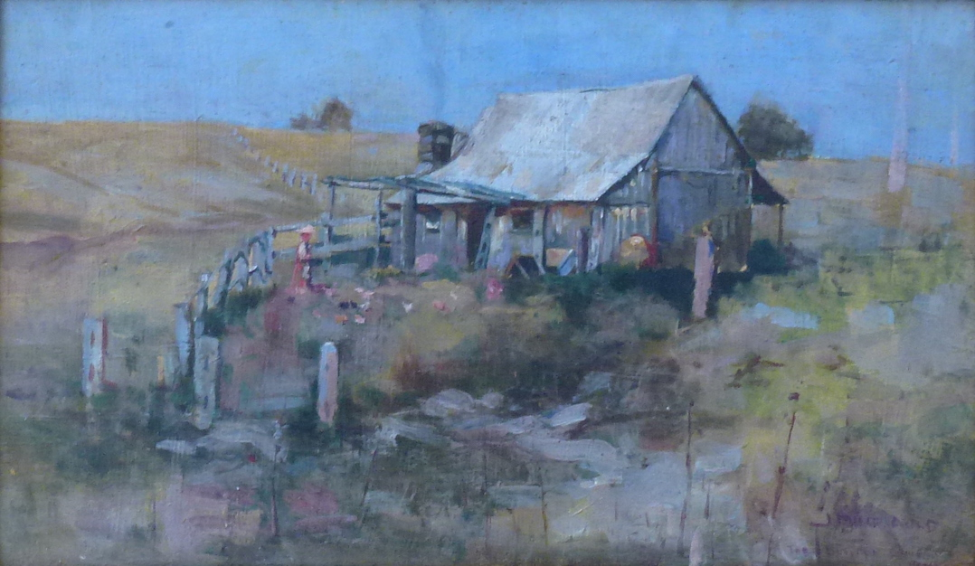 James Muir Auld The Bullock Driver's Home