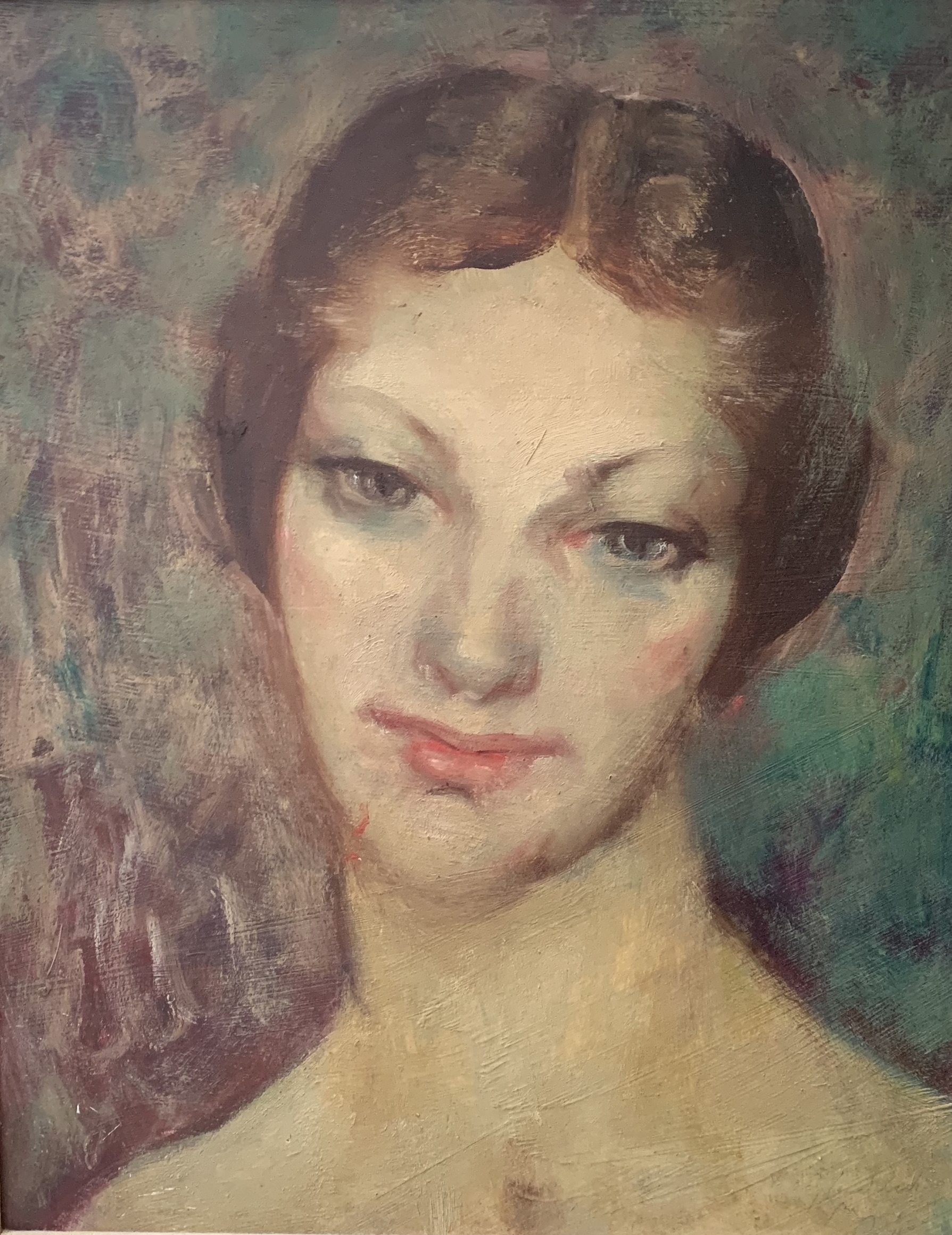 George Bell Portrait of a Woman
