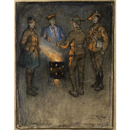 Iso Rae A Devil Etaples 1917