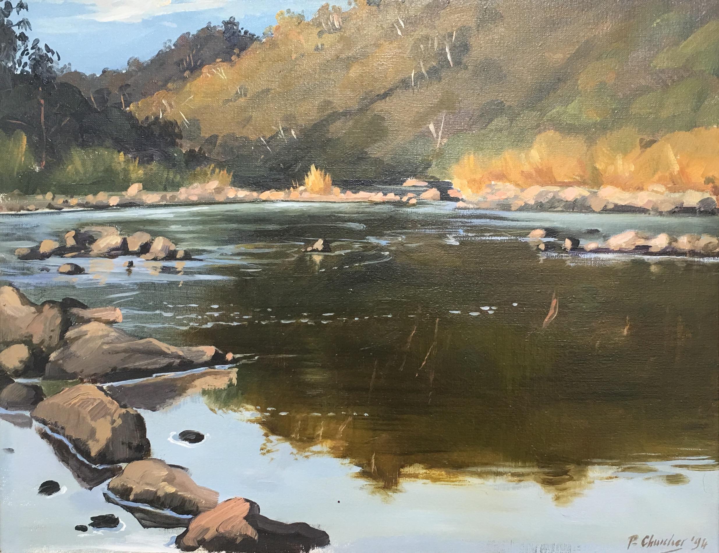202117 Churcher Snowy River Dusk Buchan