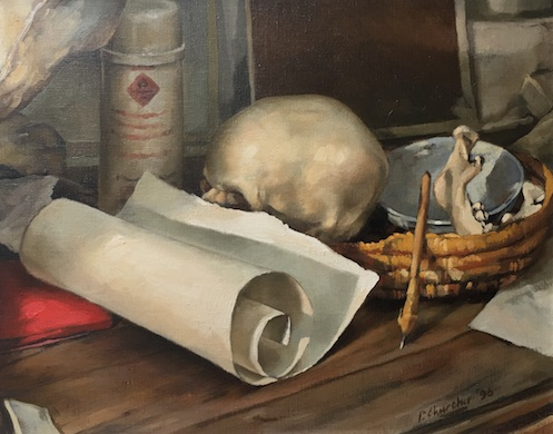 CHURCHER - Still Life - The Workbench LO RES
