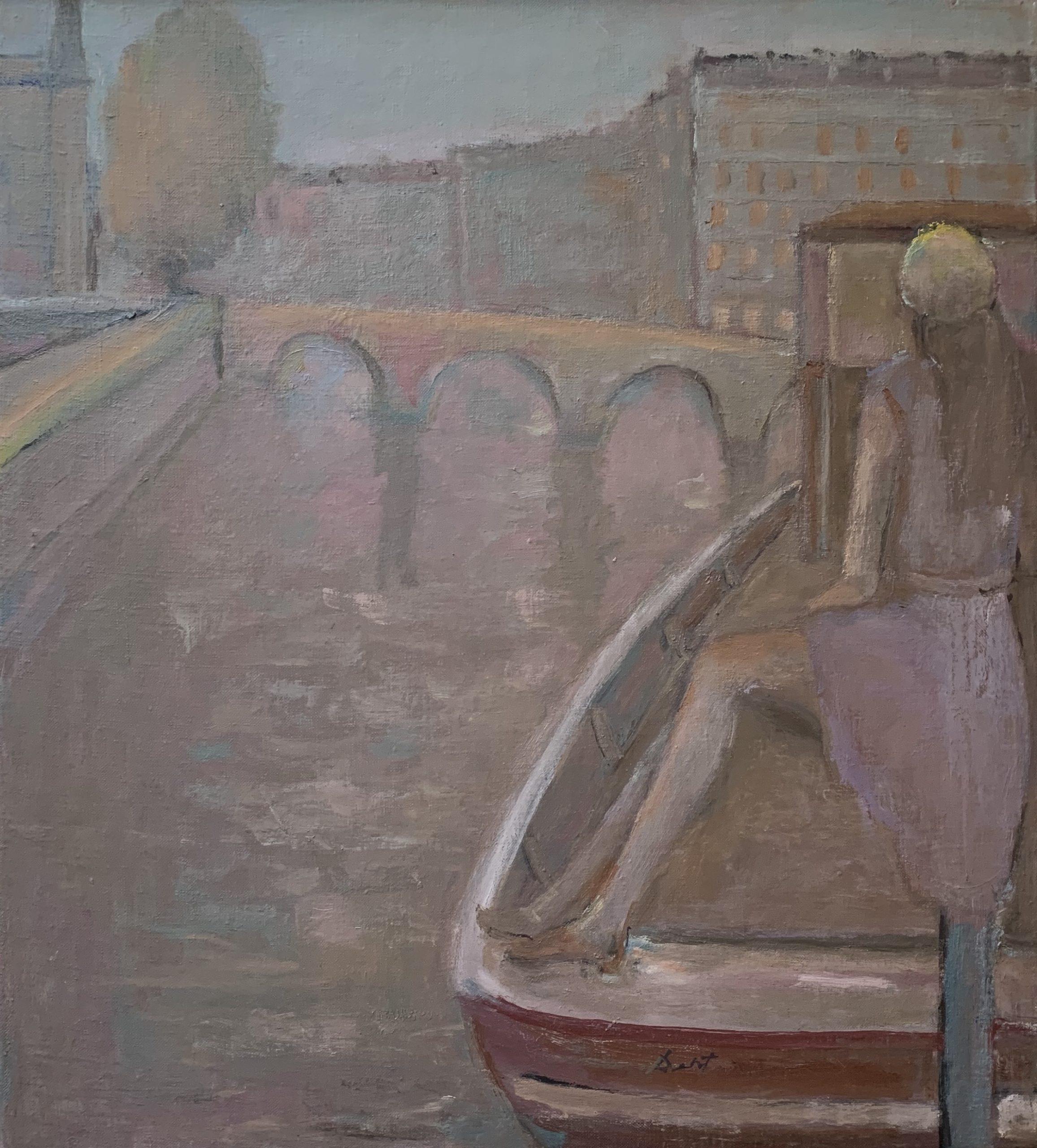 John Dent Along the Seine