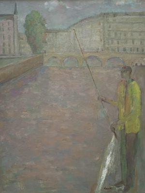 John Dent Fisherman on the Seine